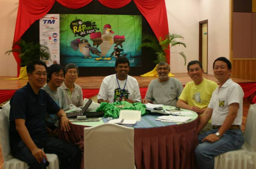 1st official meeting to discuss about the Asian Bird Fair back in 2010 during the 2010 Raptor Watch in Malaysia.