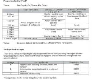 singapore programme