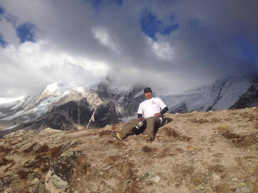 ABF Friend in the Himalayas: RajendraGurung