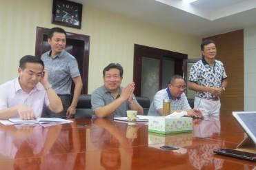 Meeting at City Hall
